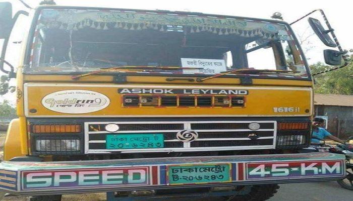 ময়মনসিংহে ট্রাক চাপায় কলেজ শিক্ষক নিহত