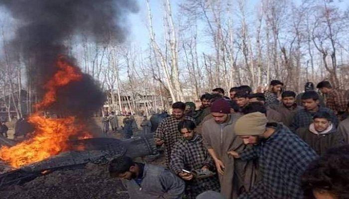 কাশ্মীরে ভারতীয় যুদ্ধবিমান বিধ্বস্তে ২ পাইলট নিহত