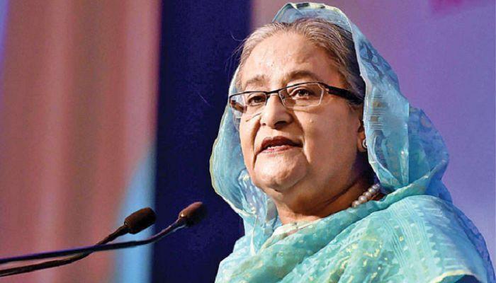 খালেদা জিয়াকে রাজনৈতিক কারণে বন্দি করা হয়নি: শেখ হাসিনা