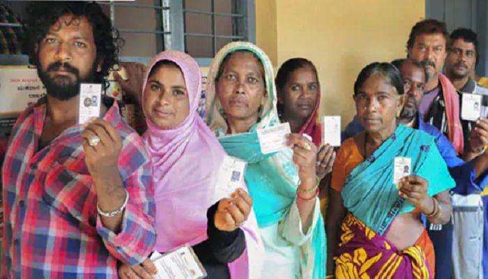 ভারতে লোকসভা নির্বাচনে চতুর্থ দফায় ভোট গ্রহণ চলছে