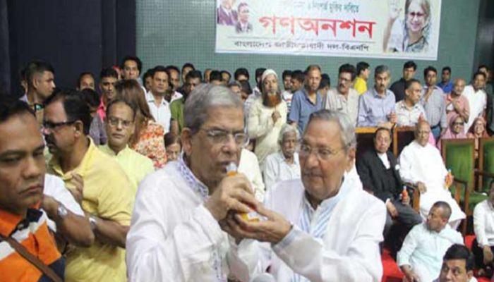 খালেদা জিয়ার জন্য প্যারোলে মুক্তি চাইনি: মির্জা ফখরুল