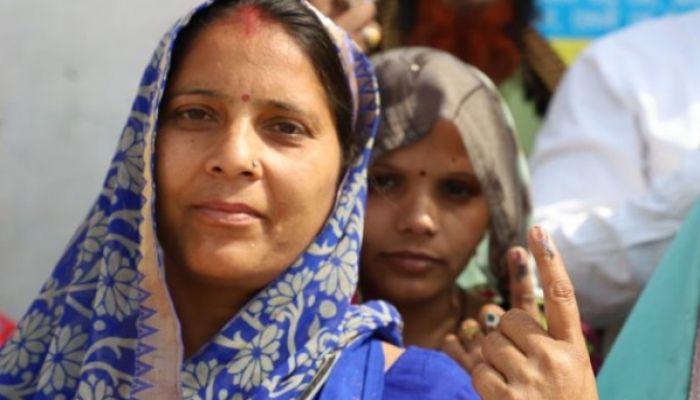 ভারতের লোকসভা নির্বাচনের ষষ্ঠ দফায় ভোট গ্রহণ চলছে