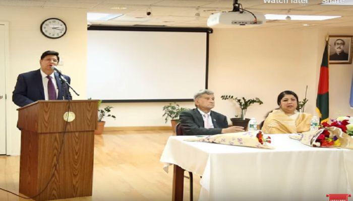 রোহিঙ্গা সমস্যার সমাধানে জাতিসংঘের সহায়তা চেয়েছেন পররাষ্ট্রমন্ত্রী