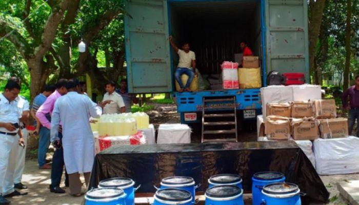 ভারত থেকে আমদানিকৃত ২০০ কেজি ভায়াগ্রা জব্দ