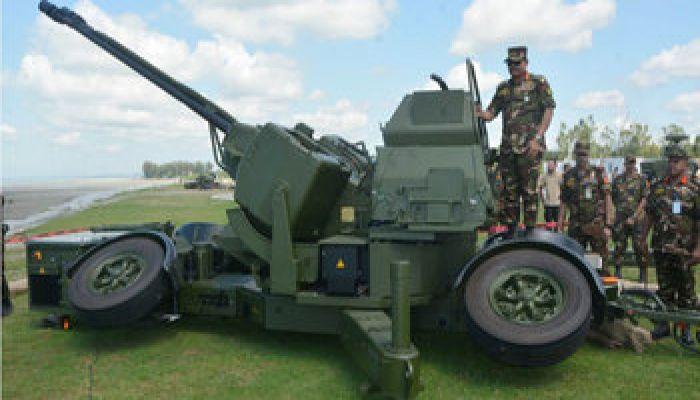 বিমান বিধ্বংসী অস্ত্রের সফল পরীক্ষা চালাল বাংলাদেশ সেনাবাহিনী