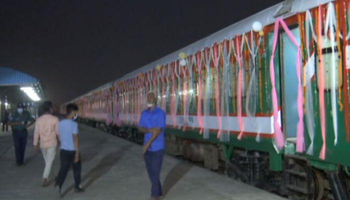 বাংলাদেশ-ভারত নতুন যাত্রীবাহী ট্রেন চালু