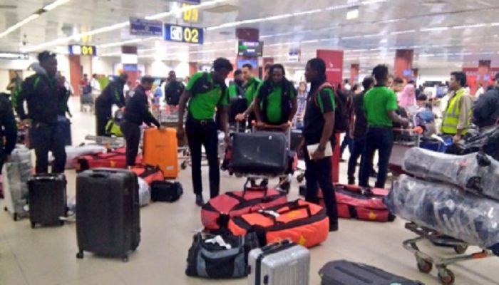 অবশেষে ঢাকায় পৌঁছেছে জিম্বাবুয়ে ক্রিকেট দল