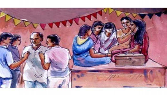 বরের বাবাকে মলমূত্র খাওয়ালো কনের পরিবার