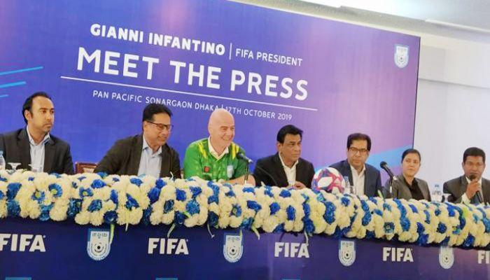 ফুটবলে বাংলাদেশ আরও এগিয়ে যাবে: ফিফা সভাপতি