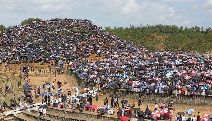 রোহিঙ্গা ইস্যুতে মিথ্যাচার করছে মিয়ানমার