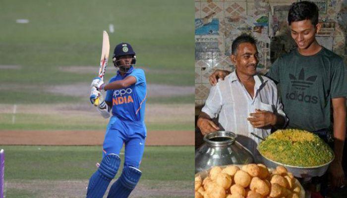 ফুচকা বিক্রেতা থেকে বিশ্বকাপ দলে ভারতীয় ক্রিকেটার