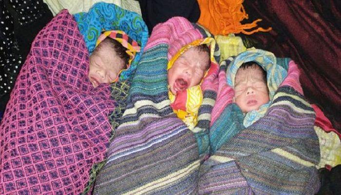 সিরাজগঞ্জে একসঙ্গে ৩ সন্তানের জন্ম