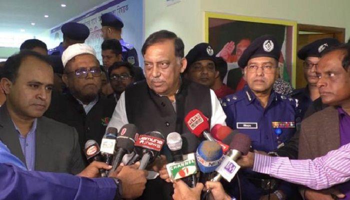 খালেদার জামিনে সরকার কোন হস্তক্ষেপ করছে না: স্বরাষ্ট্রমন্ত্রী