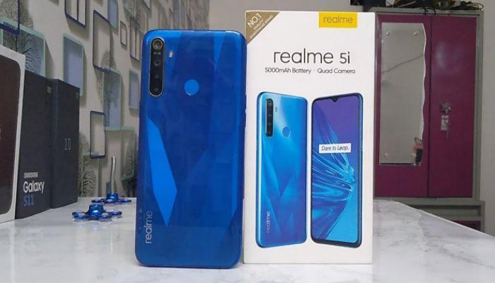 কম দামে সেরা ফোন Realme 5i