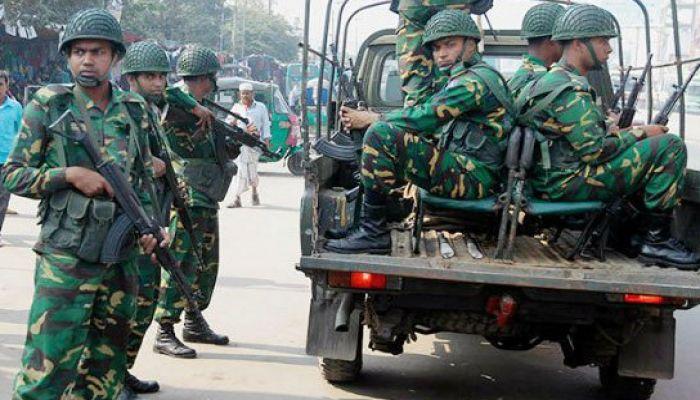 সিটি নির্বাচনে থাকছে না সেনাবাহিনী