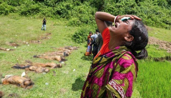 রাখাইনে গণহত্যা হয়নি: মিয়ানমার