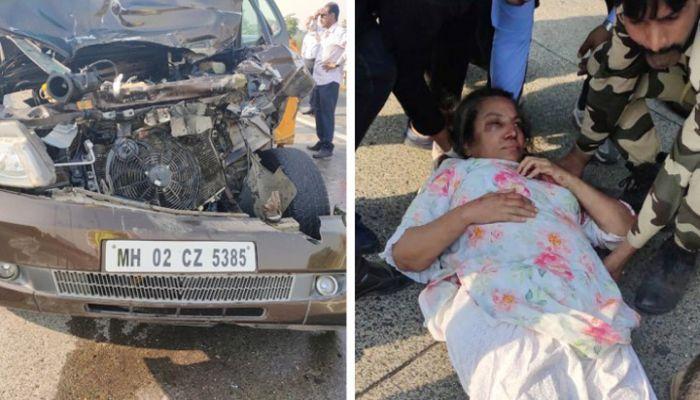 অভিনেত্রী শাবানা আজমি সড়ক দুর্ঘটনায় গুরুতর আহত