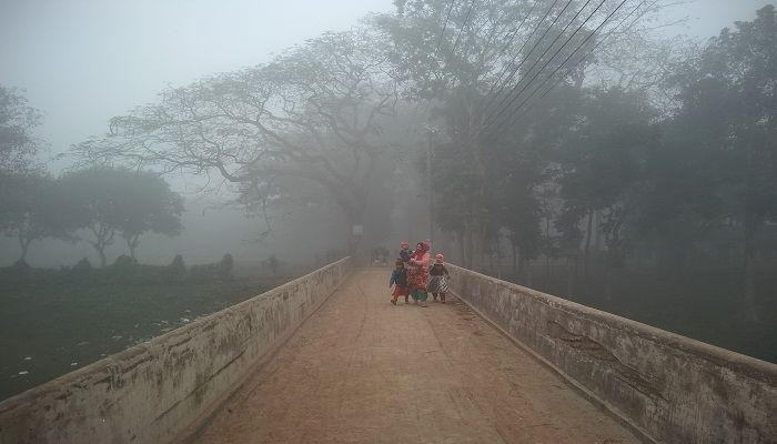 নীলফামারীতে আবারও হাড় কাঁপানো শীত