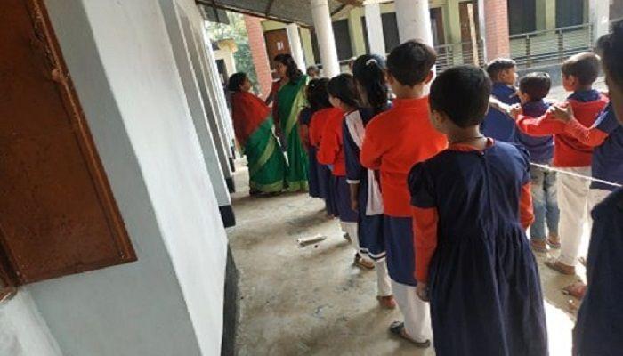 মুকসুদপুরে প্রাথমিক বিদ্যালয়ে স্টুডেন্ট কাউন্সিল নির্বাচন অনুষ্ঠিত