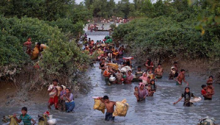 করোনা আক্রান্ত রোহিঙ্গাদের বাংলাদেশে ঢোকার চেষ্টা