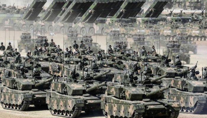 করোনা আতঙ্কের মাঝেই চীনের যুদ্ধ মহড়া