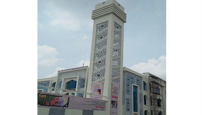 ইসলামপুরে দৃষ্টিনন্দন মডেল মসজিদের উদ্বোধন