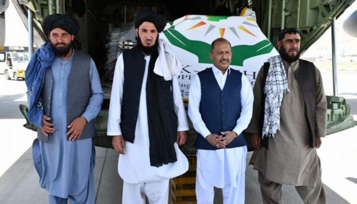 আফগানিস্তানে জরুরি ত্রাণ সহায়তা পাঠাল পাকিস্তান
